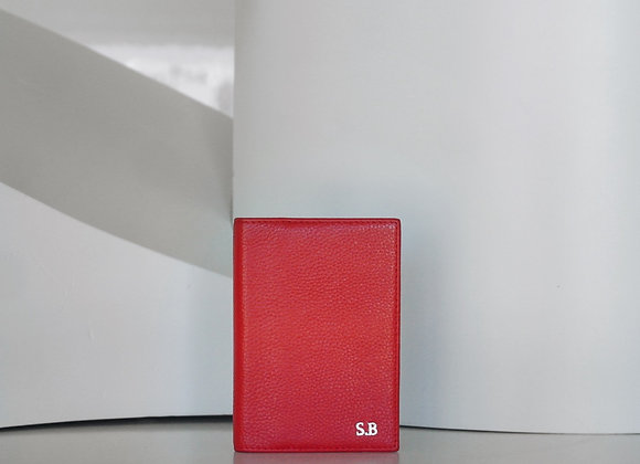 Red Passport case