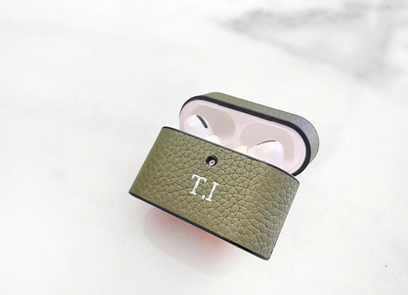 AirPods pro case green olive