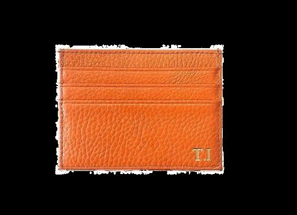 Card holder orange