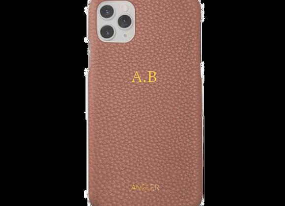 "iPhone case brown ""KIM"""