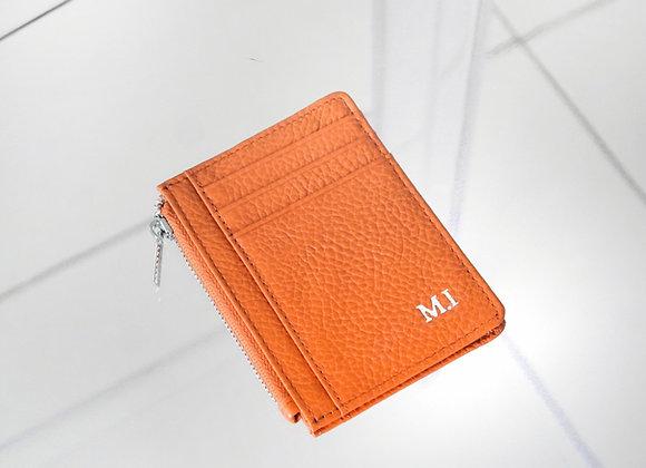 Card Zipper Orange