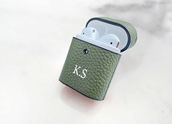 AirPods case green olive