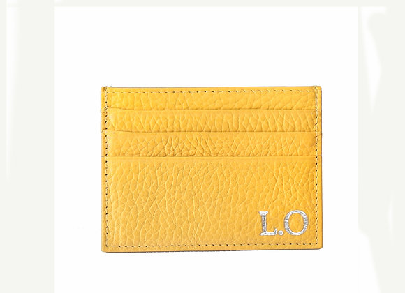 Card holder Yellow