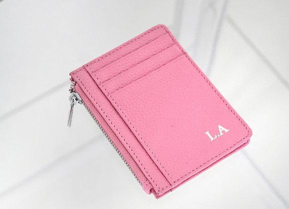 Card Zipper Pink