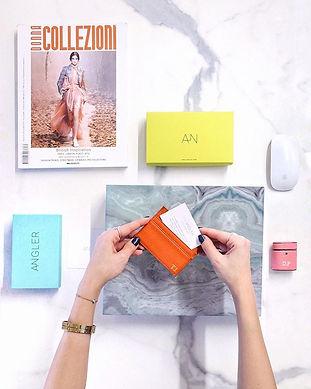 Feel like _anglertlv 🙌_Leather Card hol