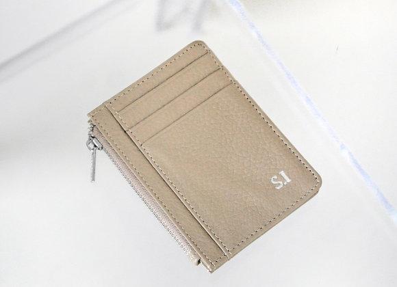 Card Zipper beige