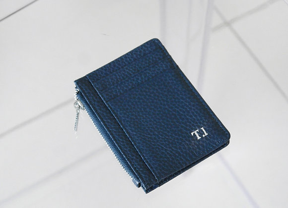Card Zipper Blue
