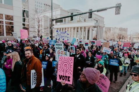 Womxn's Denver March