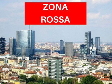 Autocertification et liste des magasins ouverts en zone rouge (Milan)!