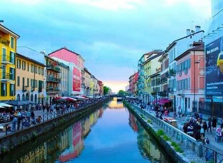 I Navigli...dans le Coeur de la movida Milanaise