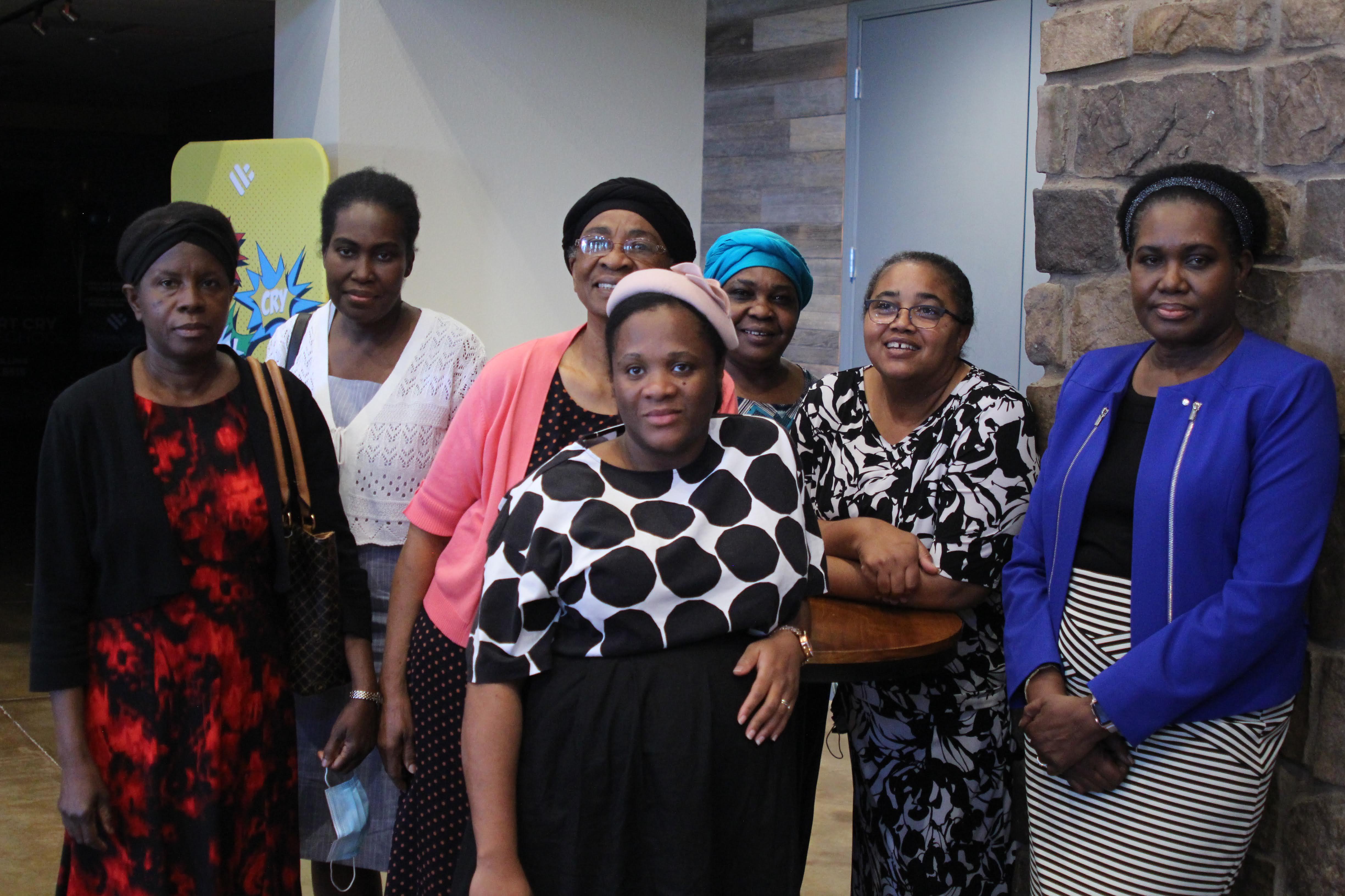 Women's ministry staff