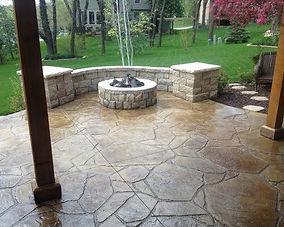 concrete-patio-designs-with-fire-pit-inc