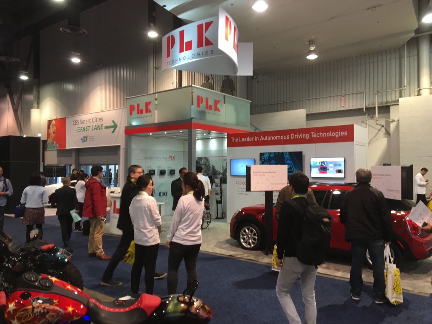 PLK from Seoul Korea at CES