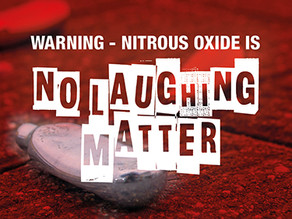 Nitrous oxide is 'no laughing matter'