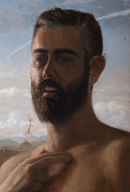 selfportrait, marcos lozano, autorretrato, autorrittrato, art contemporary