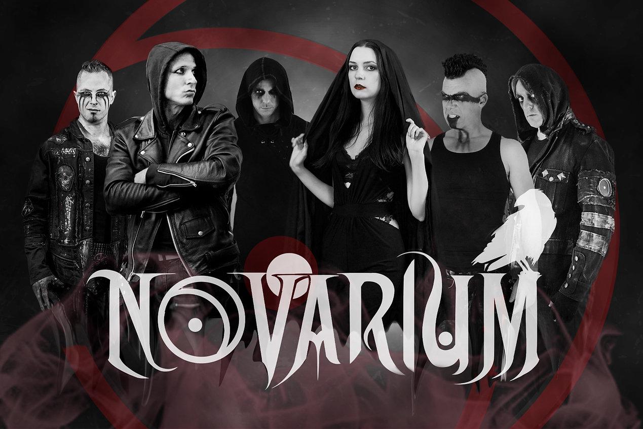 NOVARIUM WEB PHOTO Black White Red NEW L