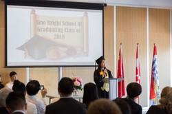180618 Sino Bright School grad ceremony