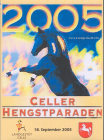 Escudo II DVD Cover for Celle State Stud in Germany
