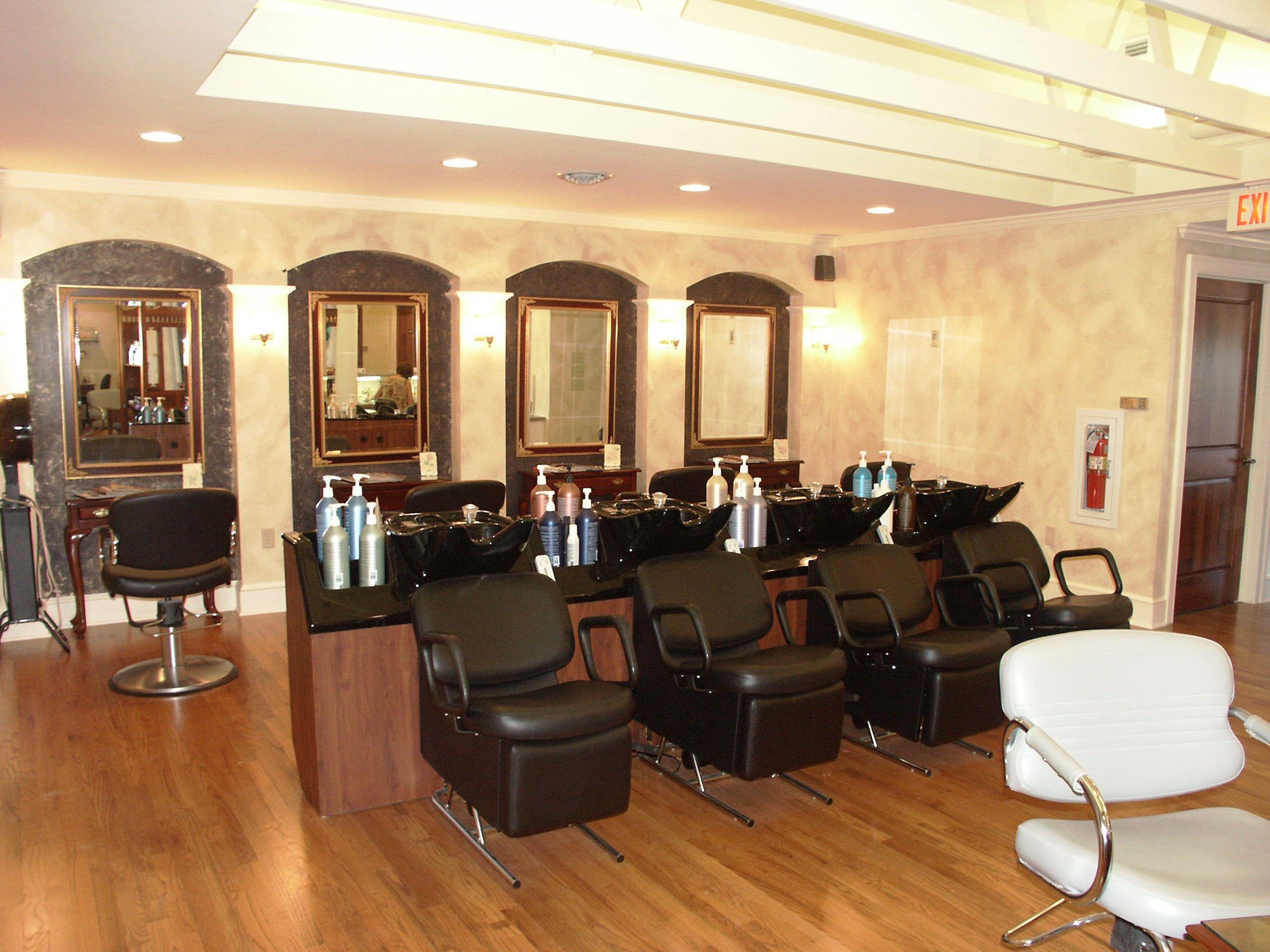A shampoo or scalp massage