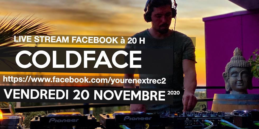 Coldface @ Live set 20 h ! You're Next Records