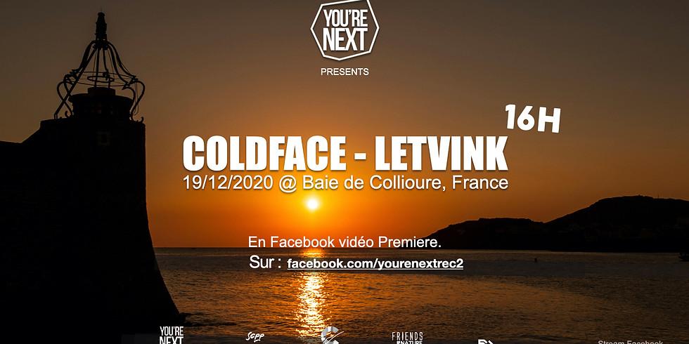 Coldface & Letvink at Baie de Collioure - Livestream set 16 h !