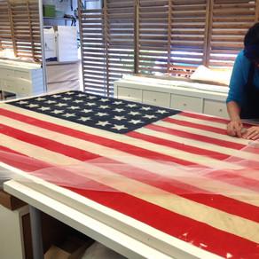 1858 American Flag