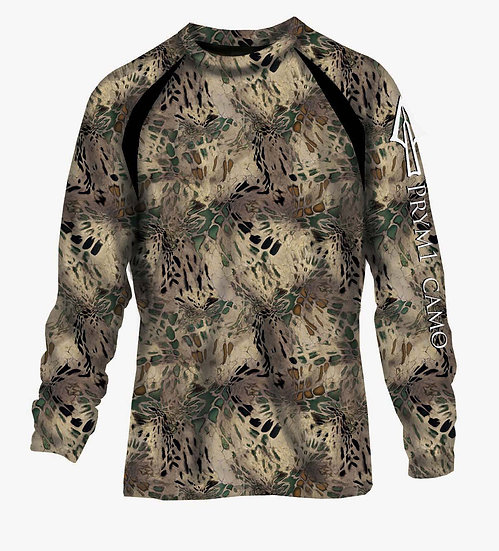 HD Polyblend Full Camo Long-Sleeved Shirt in MP
