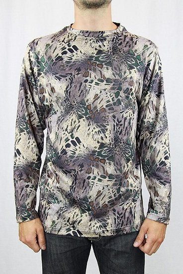 Camo Long-Sleeved T-Shirt