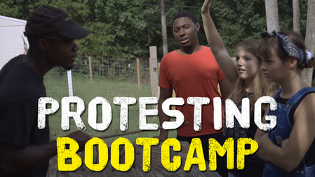 Protesting The Bootcamp