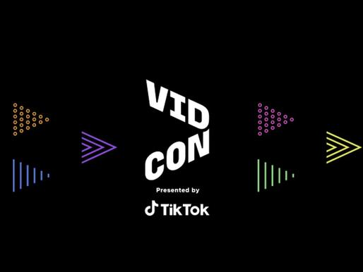Tiktok Replaces Youtube as a Major Sponsor for VidCon2021