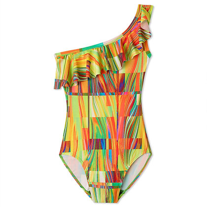 Period Swimwear One Shoulder | Cubed Cove