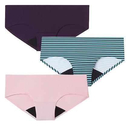 Bliss Seamless Period Underwear Teen Bundle | 3pc