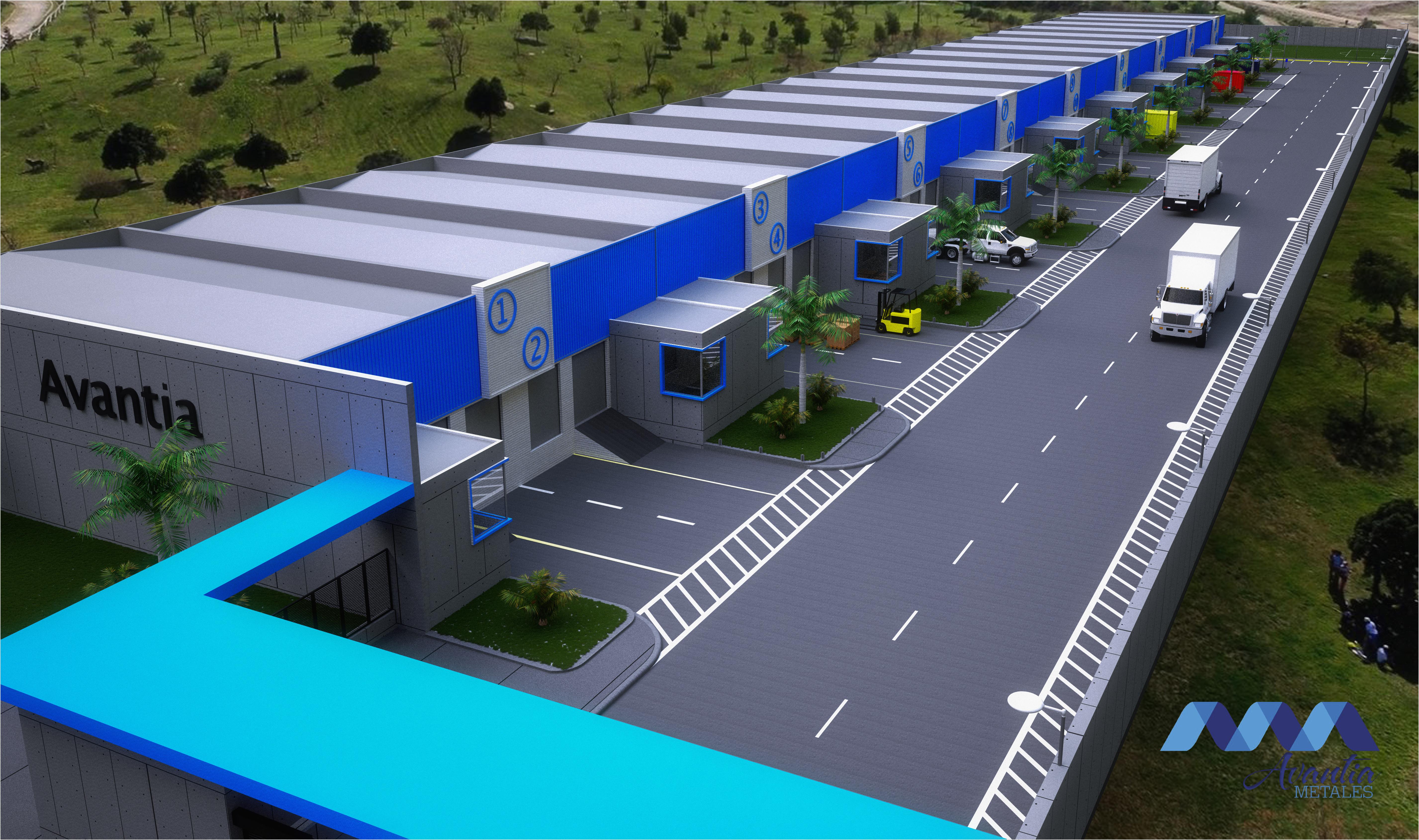 Construcción de Naves Industriales.