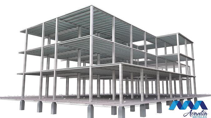 Edificio metal