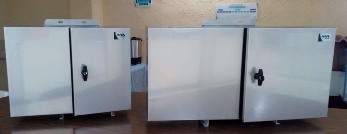Gabinetes NEMA 4X INOX 316 Doble puerta