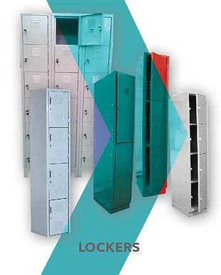 Lockers metálicos