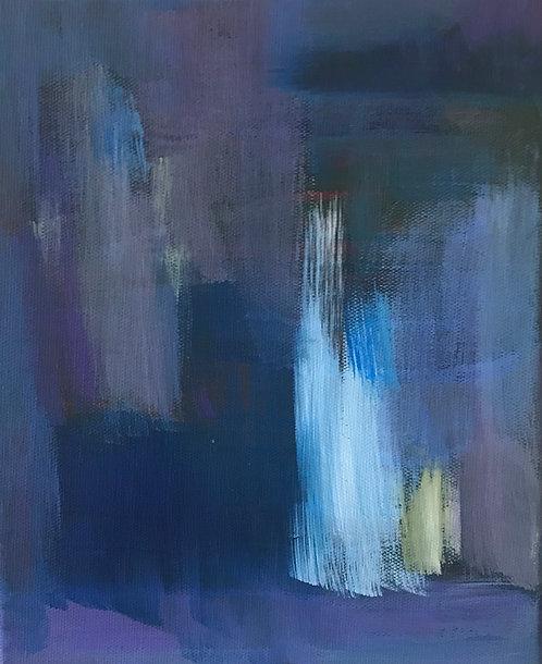 "Ellen Brook - Within, 8x12"", acrylic on canvas"