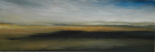 "Margaret Rinkovsky - San Francisco Bay Study 3, 45x15"""