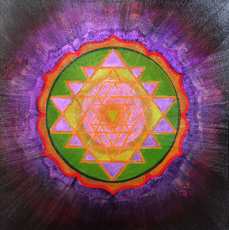 Ursula O'Farrell, Sri Yantra of Hope and Love