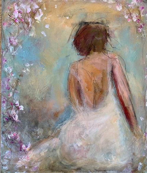 """(SOLD) - Carrie Clayden - Awakening, 20x16"""""""