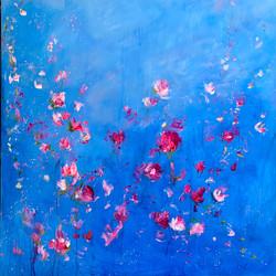 Carrie clayden Art in Bloom 48x48 sm