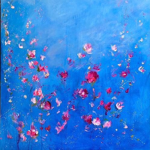 Carrie Clayden - Art in Bloom, 48x48 inches
