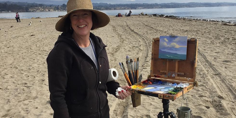 One day plein air workshop with award winning gallery artist Ellen Howard
