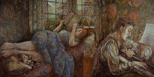 Kendra Morrison - Window Summer, 36x18