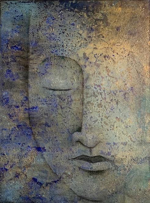 "(SOLD)   Melissa Kreisa - Below the Surface 24x18"""