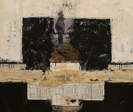Lorraine Lawson -  Sitting On Top of the World, 36 x 36 inches