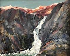 Jim Potterton, Alpine Glow High Sierras