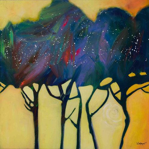 "Danielle Dufayet - Autumn Jewels, 30x30"""