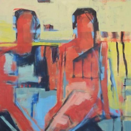 """Gail Ragains - Reflection, 32x32"""""""