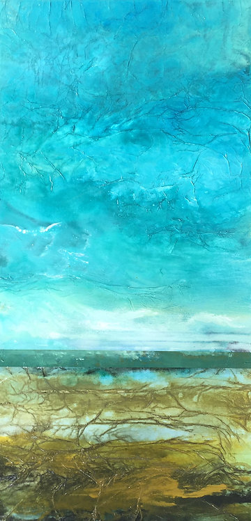 "Lorraine Lawson - Moss Landing 30x15"""